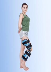China Orthopedic Leg Braces Orthotic Devices Knee Extension Brace Hinged Black on sale
