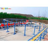 China Dragon Little Kid Roller Coaster 20 Person Kids Mini Roller Coaster 120m Track on sale