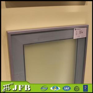 China anodized standard size modern glass insert profile aluminum frame on sale