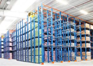 China Industrial Drive In Pallet Racking , Steel Pallet Rack Warehouse Storage Solution on sale