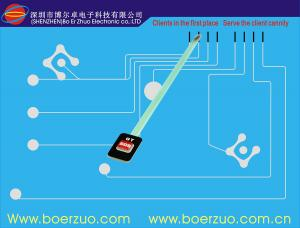 China Thin Film Membrane Switch Keypad Touch Screen For Electronic Measuring Device on sale