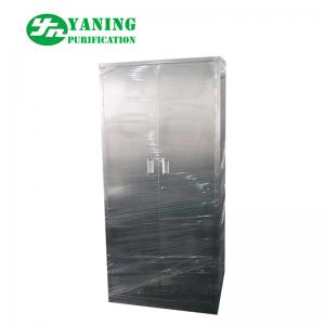China Hospital Storage Stainless Steel Medical Cabinet Knock Down Structure With Doors on sale