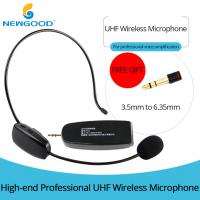 UHF Universal Digital Over the Head with Noise Cancelling Microphone and removable ear hook ,Headset And Handheld 2 In 1