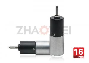 China DC 9V Dia16mm Gear Reduction Box With Planetary Transmission , Metal Shaft Material on sale