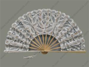 China Bamboo hand fan on sale