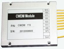 China Professional OADM Module Optical Mux Demux Low Insertion Loss 20 Channel Spacing on sale