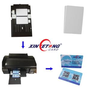 China waterproof inkjet PVC Card For Epson and canon printer on sale