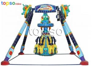 China 6 Seats  Frisbee Amusement Park Rides 3.8 M Height 1.9 M/S Customized Color on sale