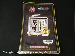 China Transparent Dry Fruit / Dried Fruit Bags With Vivid Print Waterproof No Toxic on sale