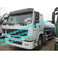 SINOTRUK HOWO WATER / FUEL TANK TRUCK 8x4 38000L  380HP, EUROII / EURO III ZZ5207M3267N