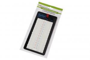 China 1360 Tie Point Solderless Breadboard withwith metal plate for Testing with colour printed on sale