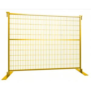 China Temporary Swimming Pool Fence , Building Site Security Fence Weather Resistant on sale