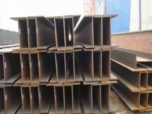 China JIS SS400 Hot Rolled H Steel Beam , Light Weight Structural Steel 500*200*10*16mm on sale