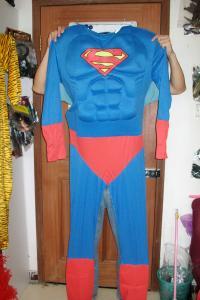 Quality cree el traje adulto de la mascota para requisitos particulares del superhombre for sale