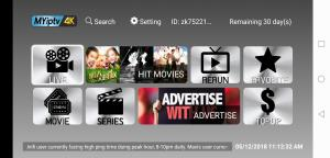 China 2018 Newest Myiptv4k Apk 3/6/12 Months Renew For Android Box/Phone on sale