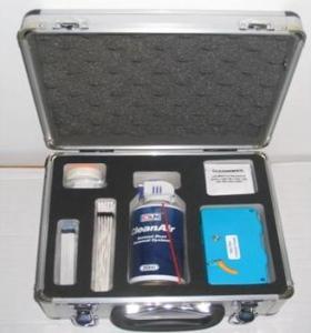 China ø1.25mm Fiber Optic Cleaner Kit For Cleaning Fiber Optic Connectors 28cm X 25cm X 14cm on sale