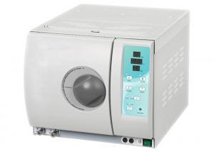 China 12L18L 23L CLASS B Dental Autoclave Sterilizer With High Light LED Tube Display on sale