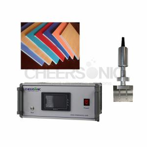 Quality Fast Speed Ultrasonic Rubber Cutting Machine For Plastic Cement Cutting for sale