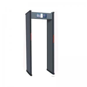 China 18 Zone Frame Walk Through Metal Detector Outdoor Use Weather Proofing Design on sale