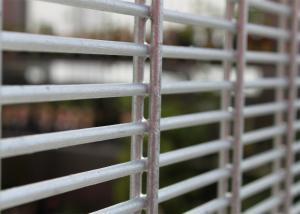 China 358防御フェンスの壁、刑務所のための高い安全性、刑務所のメッシュ・システムの見えない高い安全性ワイヤー壁の反切口の上昇 on sale