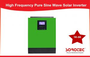 China Low noise 3000 Va 2400w solar off grid inverter for Personal Computer on sale