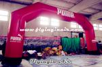 High Quality Cheap Red Advertising Inflatable Archway for Advertisement and Show