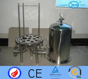 China SS304 SS316 Cartridge  Beer Wine High Pressure Filter Housing Sediment on sale