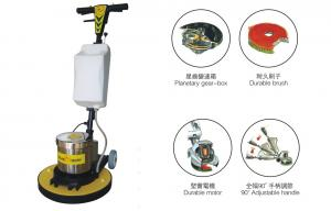 China High Speed Hard Wood Floor Polisher , commercial floor scrubber with Water Tank on sale