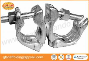 China Scaffolding Class A drop forged swivel coupler rotated clamp 48.3MM for Middle east oil and gas project on sale
