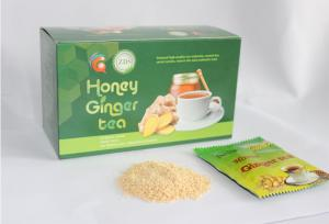 China Premium Chinabia Honey Ginger Tea(18g*10*5 pieces) for Sale With Cost Price for  Anti-cold and Anti-fever on sale