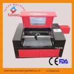 Máquina de grabado plástica del laser del CO2 500 x 300m m TIE-5030