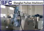 Dewatering Screw Press Machine Sludge Thickner For Pharmacy Wastewaster Treatment