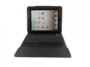 China Sythetic leather Rechargeable slim Bluetooth 3.0 Keyboard with sleep mode for iPad2 and new iPad on sale