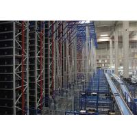Intelligent Automatic Pallet Storage Racks , Warehouse Storage Systems Height 10-30M