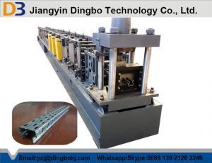 China Supermarket Shelves Storage Rackl Roll Forming Machine Manual adjustment of size on sale