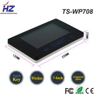 China IR night vision outdoor camera High Sensitivity touch key video intercom door phone system on sale