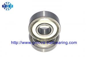 China Chrome Steel Deep Groove Ball Bearing 6202zz 6203zz Double Sealed For Fans on sale