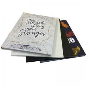 China Custom Printed School Memory Journal Book High School Yearbook Printing Service on sale
