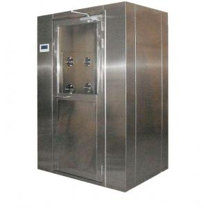 China Single / Double Person Air Shower Unit Great Sealing Performance With HEPA Filter on sale