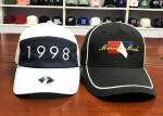 Small MOQ customized material color 6panel  embroidery logo baseball caps hats