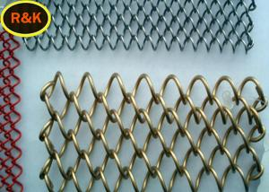China Multi Colors Construction Wire Mesh , Wire Mesh For Restaurants on sale
