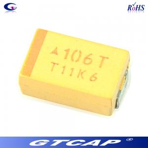 China Chip tantalum capacitor 16V 10uF Tantalum Capacitor on sale