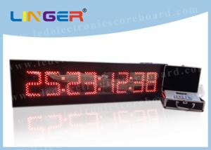 China 8 Digits Digital Countdown Clock Days Hours Minutes Seconds For Indoor on sale