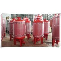 China Carbon Steel Diaphragm Pressure Tank Pressure Vessel For Water Booster Pump Station on sale