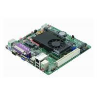 5 COM , 8 USB Mini Itx Industrial PC Motherboard Atom D525 Processor support VGA , LVDS