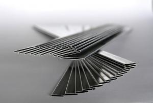 China 3000 Series Flat Aluminum Radiator Tube Welded Auto Intercoolers / Car Radiator Pipe on sale