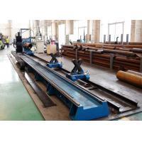China CNC4 Flame Plasma Tube Cutting Machine Customized Voltage 200-1400mm Pipe Diameter on sale