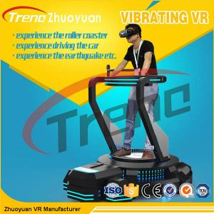 China Video Game VR Theme Park Simulator With Spring Vibration Platform on sale