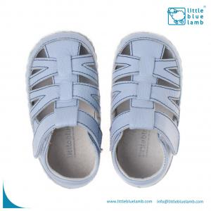 China soft sole leather baby shoe sandals BB-31002BL on sale