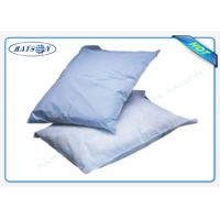 China Printed Logo Airline Non Woven Fabric Bags Pillow Cover/ Headrest Cover OEM on sale